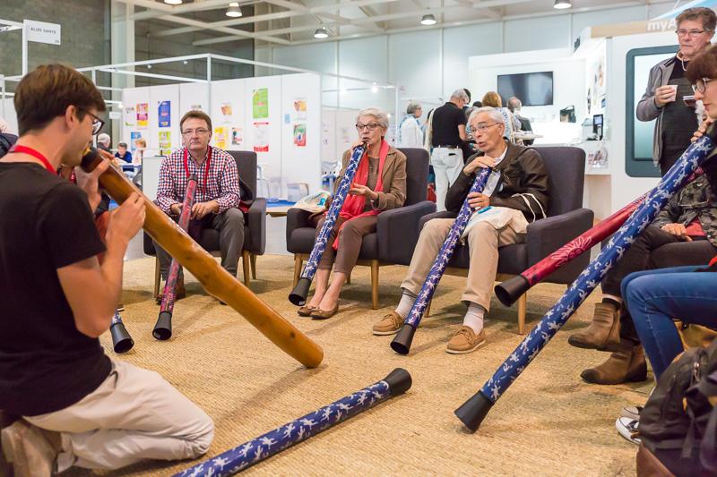 Animation didgeridoo - Journée Sommeil Santé