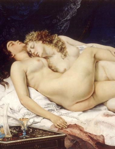 Gustava Courbet - Sommeil