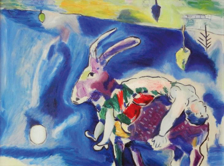 Marc Chagall - Sommeil